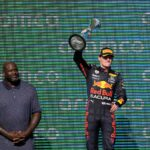 USA-Rennen: Gratulation von «Shaq» an Sieger Verstappen